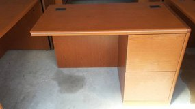 Like New HON Office Desk Returns (Org. Cost $969 each) (2 right and 1 left) in Joliet, Illinois