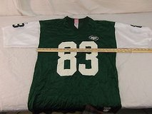 adult unisex reebok nfl new york jets randy moss jersey number 83 green 30220 in Fort Carson, Colorado