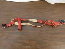 red tan trixie small dog collar harness plastic clasps non choking harness 33006 in Fort Carson, Colorado
