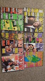 High Times Magazine 1998-2001 in Elgin, Illinois