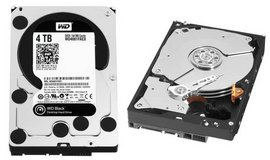 "WD Black Western Digital 4Tb 4000gb 128mb cache 3.5"" harddrive in Camp Pendleton, California"