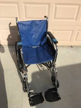 Invacare MG Portable Wheelchair in Travis AFB, California
