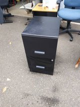 Black light weight filing cabinet in Travis AFB, California
