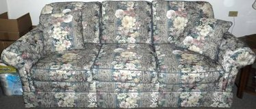 Berne Furniture custom built Couch - Floral Print in Joliet, Illinois