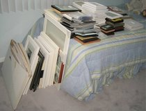 Large Picture Photo Frame Lot + Matting - Variety of Sizes MOSTLY NEW in Chicago, Illinois
