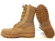 rocky 789 hot weather us military desert tan boots vibram 6xw 6 1/2 extra wide  31891 in Fort Carson, Colorado