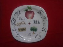 ceramic clock face - one of a kind for the clock maker in Spring, Texas