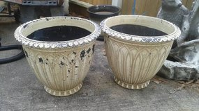 Better Homes and Gardens Clearwater Large Planters - Natural/White in The Woodlands, Texas