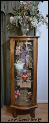 Curio Cabinet with Light in The Woodlands, Texas