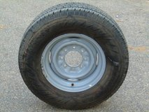 "Ford, GM, Dodge 8 x 6.5"" Lug Truck Spare Tire LT245/75R16 in Camp Pendleton, California"