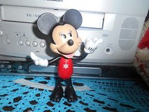 """2011 Disney MICKEY MOUSE Plastic Figurine- 5 1/2""""  Tall!  CUTE in Spring, Texas"""