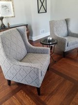 Set of 2 Living Room Chairs! New 6 months old from Macys! in Joliet, Illinois