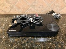 samsung blu-ray player bundle: player, remote & hdmi cable in Kingwood, Texas