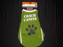 NWT Pet Dog Costume Football Coach Canine Tee Size M (50 lbs) in Tacoma, Washington