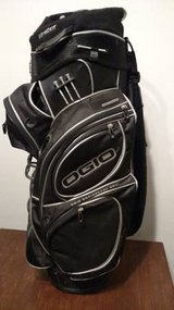 Ogio Cart Golf Bag - Black - Rain Cover Included in St. Charles, Illinois