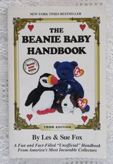 The Beanie Baby Handbook 1998 Edition by Les & Sue Fox Collectors Guide in Morris, Illinois