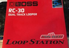 Boss RC-30 Dual Track Looper in St. Charles, Illinois