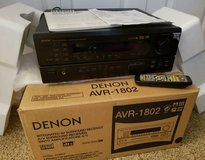 DENON AVR-1802 STEREO RECEIVER, REMOTE INSTRUCTIONS in St. Charles, Illinois