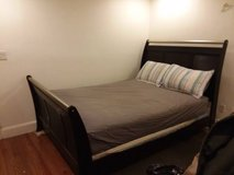 Sleigh Bed w/boxspring in Fairfax, Virginia