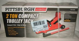 PITTSBURGH AUTOMOTIVE 2 TON COMPACT TROLLEY JACK - NEW IN BOX in Chicago, Illinois