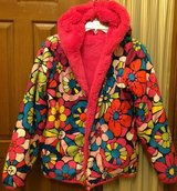 Girls Hanna Andersson Seven Days A Week Winter Reversible Coat Jacket in Naperville, Illinois
