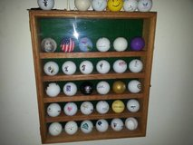 Golf Ball display case in Chicago, Illinois