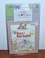 NEW Vtg 97 Peter Rabbit Story Read Sing Along Book Cassette Tape Set Audiobook in Oswego, Illinois