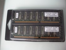 two wintec ampo 256mb 184-pin ddr sdram ddr 333 (pc 2700) desktop memory modules in Naperville, Illinois