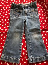 Girls Denim Jeans size 3T in Bolingbrook, Illinois
