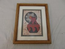 signed numbered d. smith 94/500 red pottery painting framed southwest art  31932 in Fort Carson, Colorado