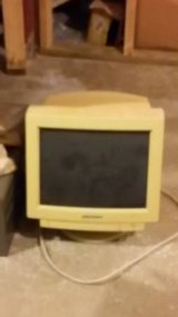 old time computer monitor in Naperville, Illinois