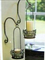 New! Set of 2 Partylite Indoor/Outdoor Hanging Candle Holders in Orland Park, Illinois