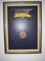 World Reserve Monetary Exchange presidential dollar display pre-owned #2592 in Fairfax, Virginia