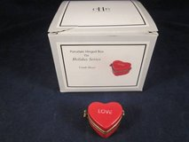 MIDWEST CANNON FALLS Candy Heart Pill Box LOVE Hinged Valentines Day in Glendale Heights, Illinois