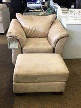 DARCY STONE CHAIR AND OTTOMAN in Schofield Barracks, Hawaii