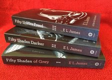 Fifty Shades of Grey All Three books set trilogy E L James in Aurora, Illinois