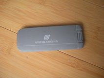 """united airlines lint brush vintage 4"""" in Joliet, Illinois"""