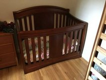 Convertible Crib with accessories in Fort Lewis, Washington