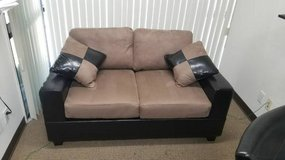 New Tan Microfiber Love seat Only DELIVERY AVAILABLE in Camp Pendleton, California