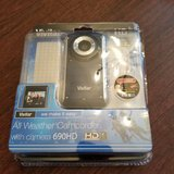 vivitar dvr 690hd camcorder -  light blue in Glendale Heights, Illinois