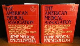 The American Medical Association Home Medical Encyclopedia Set of 2 HC Reference in Naperville, Illinois