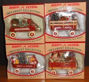Set of 4 Radio Flyer 1997 Ornament Collection Models 101-104 in Naperville, Illinois