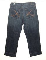 Common Genes Cropped Denim Jean Capri Pants Womens 8 in Chicago, Illinois