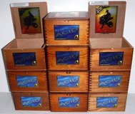 6 Left! Wooden Drew Estate Acid Kuba Maduro Nicaragua Empty Cigar Boxes in Orland Park, Illinois