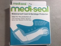 NEW waterproof cast cover for shower & bath kids arms reusable 100% sealed new in Kingwood, Texas