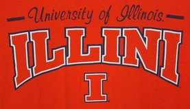 Jerzees NCAA Illinois Fighting Illini High Cotton Pre-Shrunk T-Shirt 2X Orange in Morris, Illinois