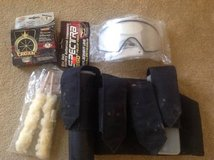 Paintball Package - Pod Pack / Mask Lens / Speed Loader / Cleaning Rod in Fairfax, Virginia