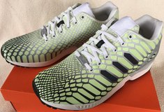 Adidas ZX Flux Xeno AQ4535 glow dark torsion shoes men's 11 1/2 slightly used in Fairfax, Virginia
