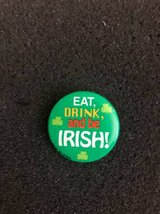St.Patrick Day small pin in Lockport, Illinois