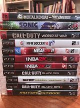 lot of 11 PS3 Games in Naperville, Illinois
